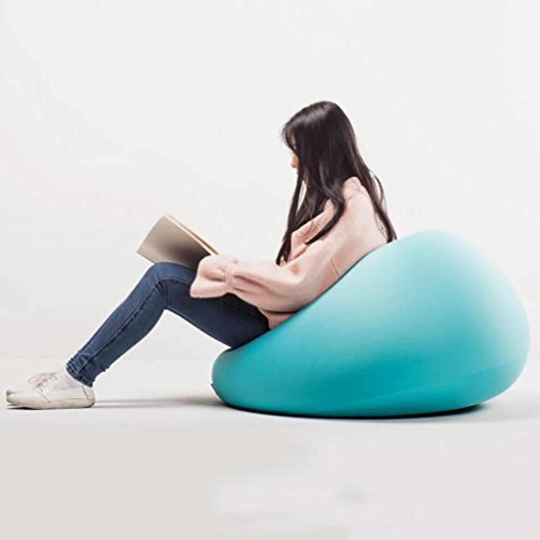 LIANGJUN Faule Couch Waschbar Sitzsack Sessel Lesen Wohnzimmer Studie Schlafzimmer, 5 Farben, 3 Gren Verfügbar (Farbe   Blau, gre   70  42cm)