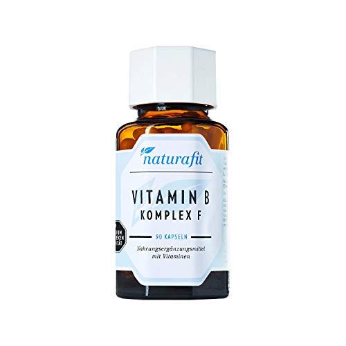 naturafit Vitamin B Komplex F Kapseln, 90 St. Kapseln