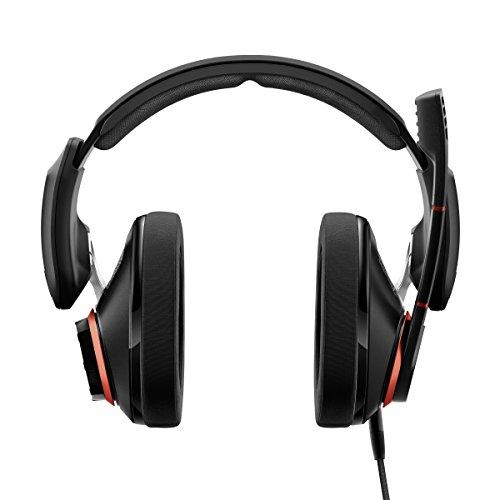 EPOS I Sennheiser GSP 500 Gaming Headset Kopfhörer, Geräuschunterdrückendes Mikrofon, Flip-to-Mute, Ergonomisch, Ohrpolster, Kompatibel mit PC, Mac, PS4 PS5 Xbox Series X Xbox One und Nintendo Switch