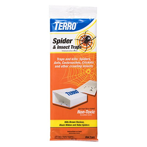 Terro T3206 Spider amp Insect Trap 4 Count