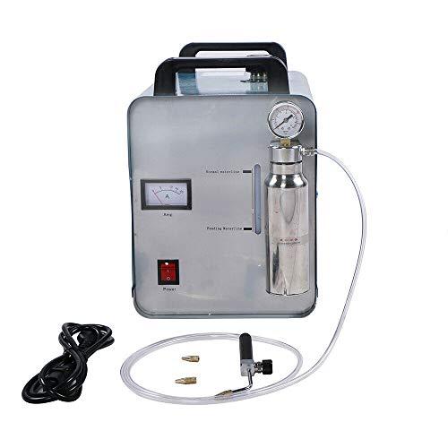 DiLiBee HHO H180 Oxígeno hidrógeno Generador de llama de gas Pulidora máquina de soldadura de hidrógeno, máquina pulidora de acrílico, 95 L/H