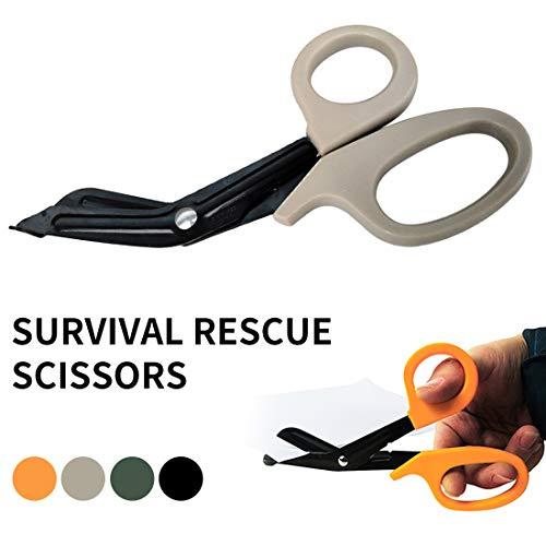 Luwu-Store Taktische Rettung Scissor Trauma Verbandsmull Notfallschere Außen Sanitäter Scheren Muddy