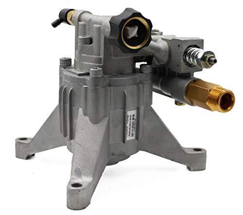 WASPPER  Bomba de Reemplazo Hidrolimpiadora Vertical 3100 PSI 210 Bar y Bomba de Reemplazo de Hidro Lavadora 6.5 HP  Cabezal de Aluminio, Modelo NR. PA000-PWVR28/2.5H