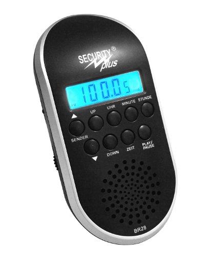 Security Plus ® Fahrrad Radio BR 28, schwarz, 20 x 15 x 7 cm