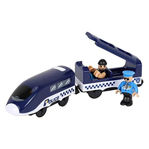 boastvi Kinder elektrisch Zug Spielzeug Lokomotive Spielzeuge Miniatur-Magnetzugspielzeug Kinder Geburtstag Weihnachten Kompatibel mit verschiedenen Arten von Holzschienen