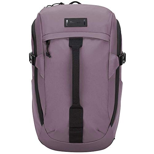 Targus Sol-Lite Compact Backpack Designed for Durable, Strong Protective Water-Resistant, and Comfortable for Traveling and Commuter fit up to 14-Inch Laptop, Purple (TSB97203GL)