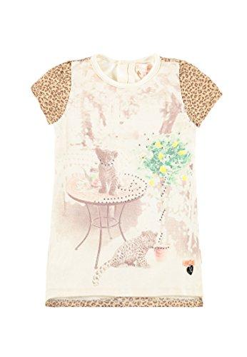 Pampolina Kleid 1/4 Arm Vestido, Multicolor (Allover 0003), 86 cm para Niños
