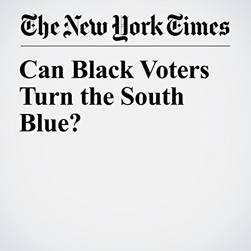 『Can Black Voters Turn the South Blue?』のカバーアート