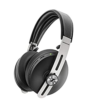 SENNHEISER Momentum 3 Wireless Noise Cancelling Headphones with Alexa Auto On/Off Smart Pause Functionality and Smart Control App Black