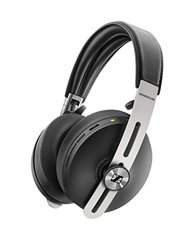 Sennheiser Momentum 3 Wireless Noise Cancelling Headphones with Alexa, Auto On/Off, Smart Pause Functionality and Smart Control App