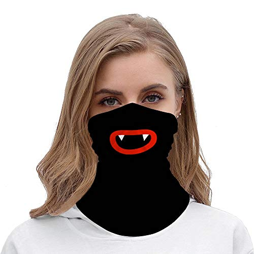 Écharpe unisexe pour le visage, la bouche, le sourire drôle, le cou, le cou, la guêtre, le dessin animé pour moto, la randonnée, le ski