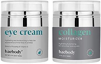 Baebody Eye Cream & Collagen Face Cream Bundle