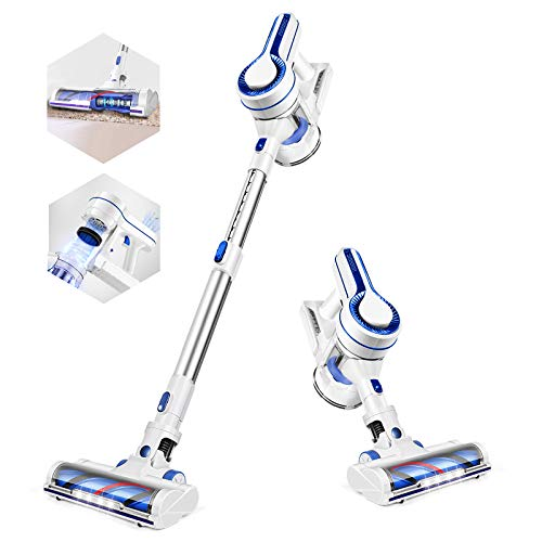 APOSEN Cordless Vacuum Cleaner,14KPA Powerful Suction Stick Vacuum Cleaner...