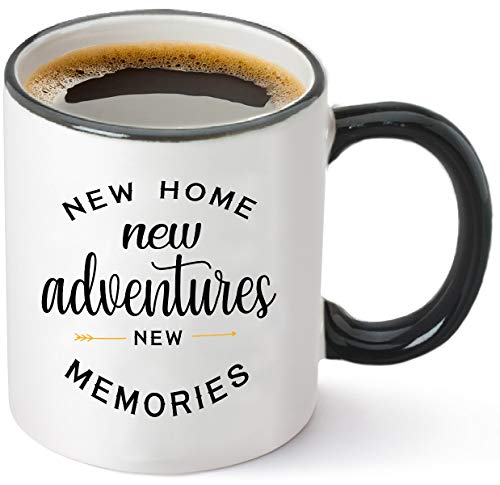 Housewarming Gifts For New Home – Unique First Time House Owner Gift Ideas for Men and Women – House Warming Decoration Gifts for Him, Her, Couple – 15 oz Coffee Mug Tea Cup White