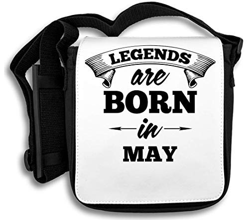 Legends Are Born In May schoudertas