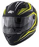 Casco integrale Kappa per moto e scooter in materiale termoplastico (XL)