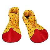 Holibanna Disfraz de halloween payaso cosplay accesorios zapatos punto para mujeres unisex adultas hombres tamaño medio