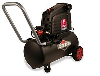 Briggs & Stratton 8-Gallon Air Compressor Hotdog 074025-00,Black