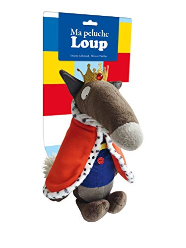 Peluche de Loup Prince