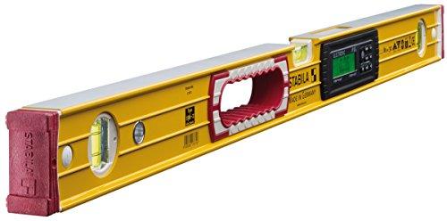 STABILA Elektronik-Wasserwaage TECH 196 electronic IP 65, 81 cm, mit 2 Digital-Displays und Wasserwaagen-Tasche
