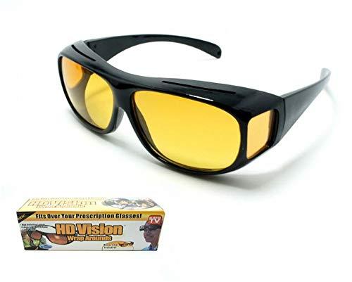 Whale city Visión nocturna HD Conducción sobre gafas, gafas de sol deportivas antideslumbrantes Traje unisex para conducir/pescar/golf