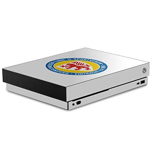DeinDesign Skin kompatibel mit Microsoft Xbox One X Folie Sticker Offizielles Lizenzprodukt Eintracht Braunschweig Wappen