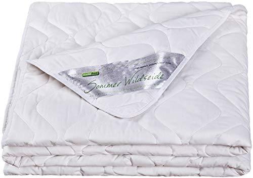 moebelfrank - Sommerdecke 135x200 Bettdecke Sommer Wild-Seide Baumwolle