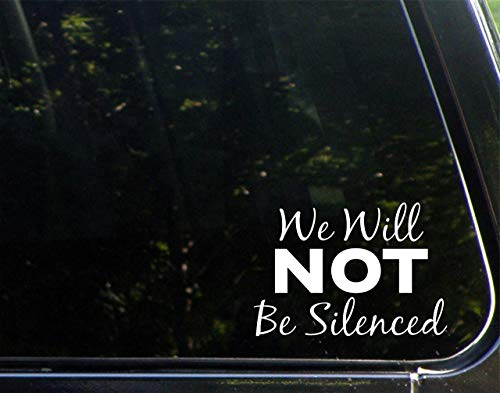 Lplpol We Will NOT Be Silenced - 5-1/2