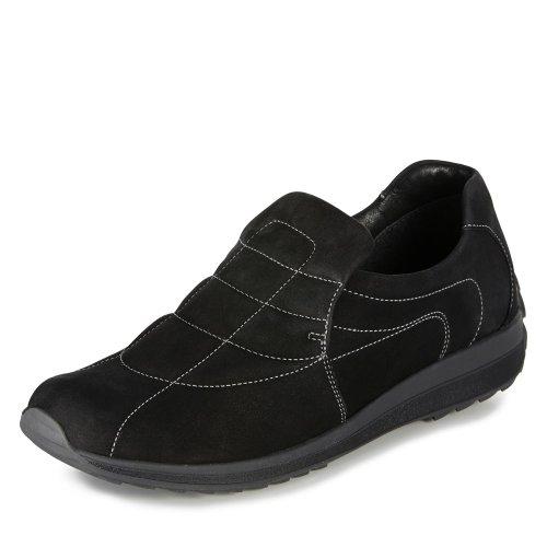 ARA Hampton Nubuk Heaven Schwarz 12-34723-01 Sneaker (8)