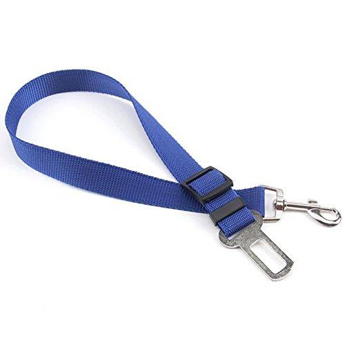 Nikgic Nylon Hund Sicherheitsgurt Auto Hunde Adapter Einstellbare Auto Pet Sicherheitsgurt Sicherheitsgeschirr