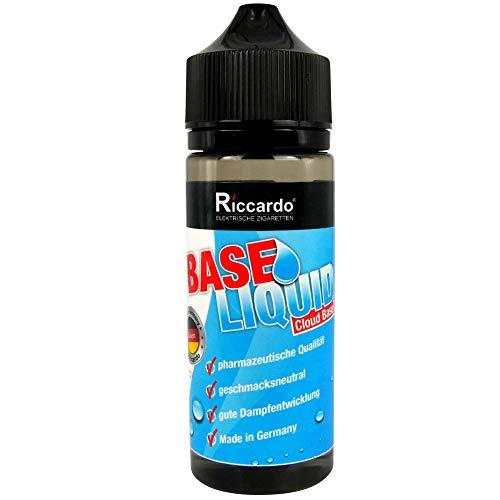 Riccardo Basisliquid Cloud Base (70 % VG / 30 % PG, 99.5 % Ph. Eur, 0.0 mg Nikotin) 100 ml