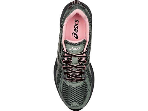 ASICS Women's Gel-Venture 6 Trail Running Shoes, 10M, Slate Grey/Frosted Rose 4