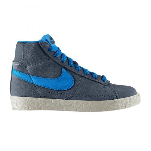 Nike Sneakers Colore Grigio-Blu Modello Blazer Mid Vintage 549548 405 (TD) Taglia 29.5