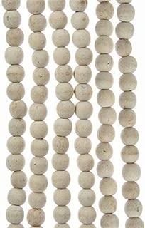 christmas tree wood bead garland