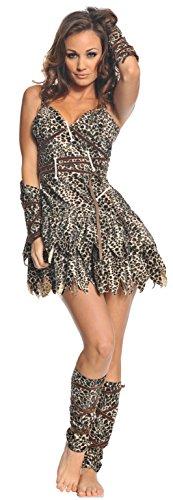 Underwraps Costumes Women's Sexy Cave Man Costume - Goin' Clubbin', Leopard, X-Large