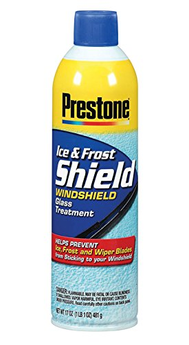 Our #7 Pick is the Prestone AS276 Ice and Frost Shield Glass Treatment
