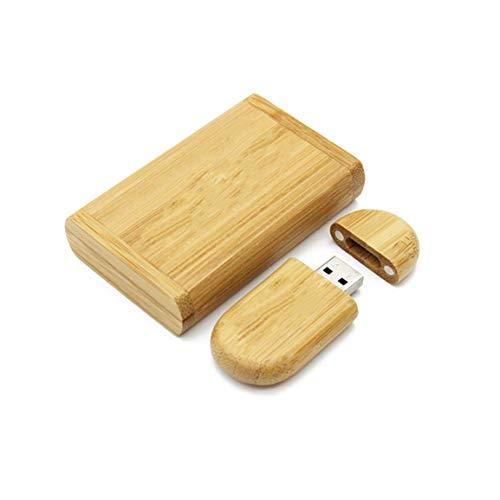 Unidades USB2.0 de Madera Carbonizada Unidades de Memoria Stick Pen Thumb U...