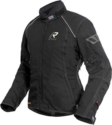 Rukka Salli Gore-Tex Damen Motorrad Textiljacke 40 Schwarz/Weiß