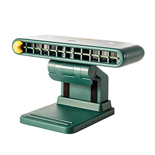 Climatizador portátil, unidad USB, líquido de hielo adecuado para cama, oficina y estudio (80 ml/2 unidades), color verde