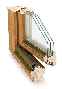Fenster Holzfenster Kiefer, Meranti, Eiche Nr. 1 in Deutschland
