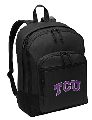 Texas Christian University Backpack CLASSIC STYLE TCU Backpack Laptop Sleeve