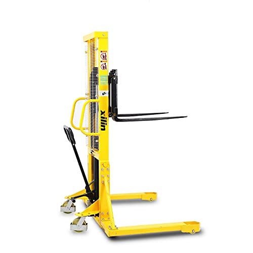Xilin Manual Pallet Stacker 2200lbs Capacity 63