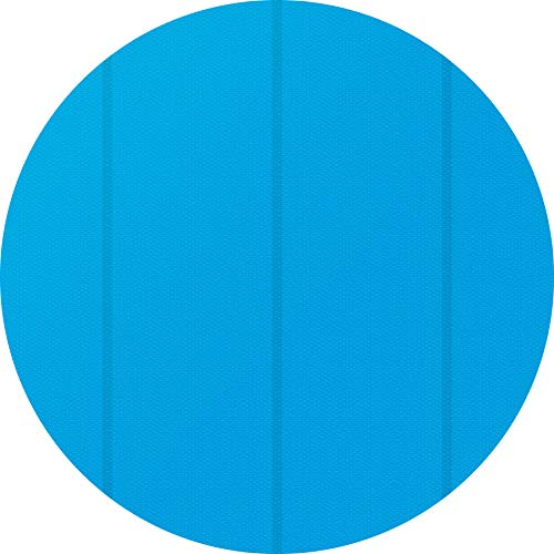 tectake 800712 Bâche à Bulles Piscine Ronde de Protection, Adaptable à la Taille souhaitée, Bleu - Plusieurs modèles - (4,88 m   no. 403110)