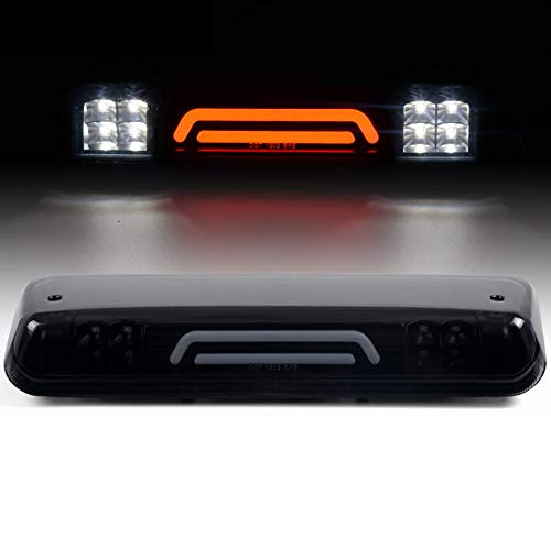 LED Third 3rd Brake Lights Assembly Compatible Compatible For Ford F-150 2004-2008 / Explorer Sport Trac 2007-2010 / Lincoln Mark LT 2006-2008 High Mount Stop Tail Cargo Lamps Rear Center Lights