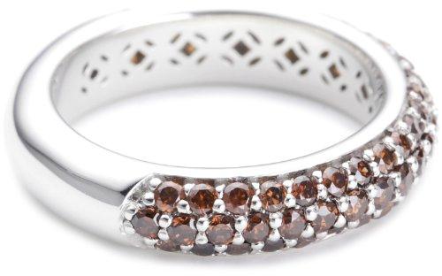 Esprit Damen-Ring amorbess autumn ELRG91400F190,silber, 57 (18.1)