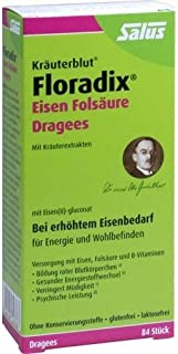 FLORADIX järn folsyra drages 84 st.