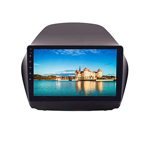 XISEDO 9 Zoll Android 9.0 Autoradio 4 Core RAM 2G ROM 32G In-Dash Car Radio Multitouch-Bildschirm Autonavigation für Hyundai IX35 (2010-2014)