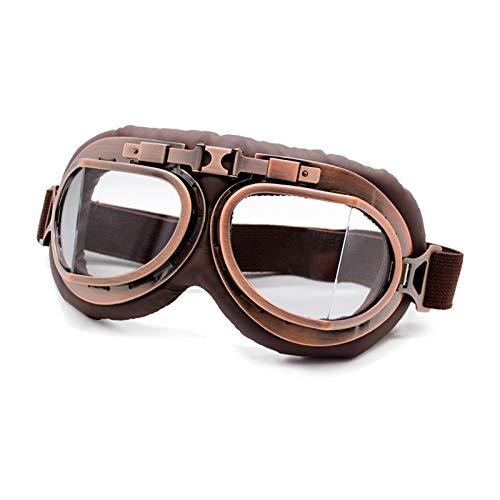 STARKWALL Roaopp Retro Gafas Gafas De Motocicleta Vintage Moto Gafas Clásicas...