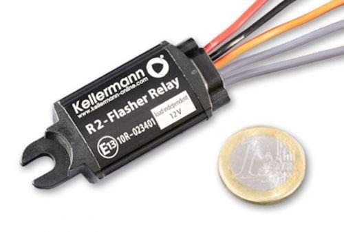 Motogadget LED Universal Indicatore di direzione trasparente M di Blaze Pin Nero e approvato