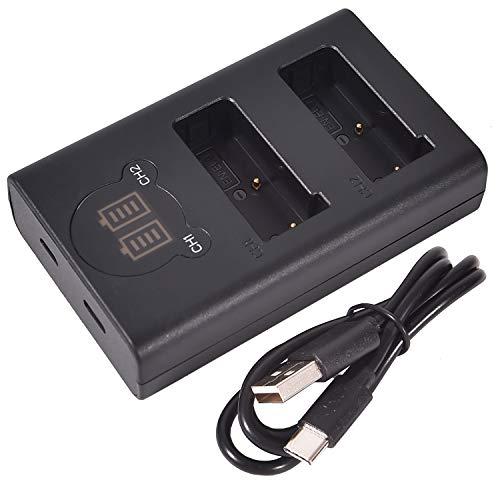 DSTE Dual USB Cargador con Pantalla LCD para EN-EL9 ENEL9 EN-EL9A y...